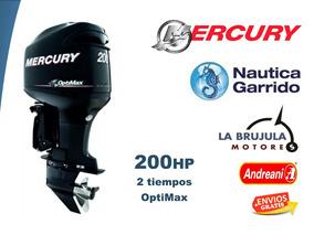 Mercury 250 Hp Optimax. Nautica Garrido - La Brujula Motores
