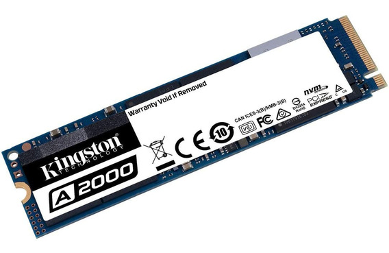 Disco Sólido Hd Ssd M2 Nvme 500gb Kingston A2000 20x Rapido