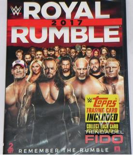 Wwe Dvd Nuevo Y Sellado Royal Rumble 2017