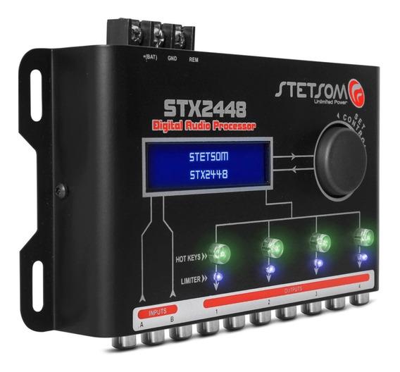 Processador Stetsom Stx2448 4 Vias Crossover Promoção