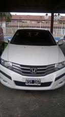Honda City Full Cuero 2012 Blanco