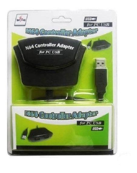 Adaptador Usb Para Pc Dual N64 Para 2 Controles Nintendo 64