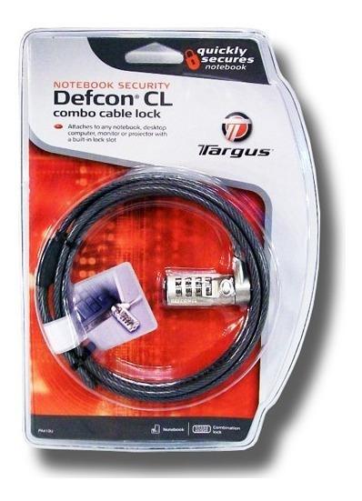 Guaya De Seguridad Para Laptop (targus Defcon Cl) - Pa410u