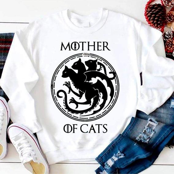Sudadera Mother Of Cats Targaryen Game Of Thrones Todastalla