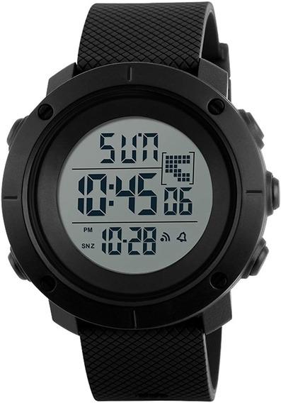 Reloj Para Caballero Aposon Deportivo De Cuarzo Luz Led Negro