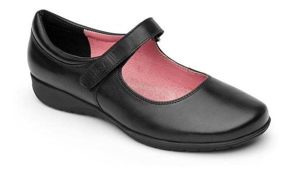 Calzado Dama Mujer Zapato Flexi En Piel Casual/escolar Comod
