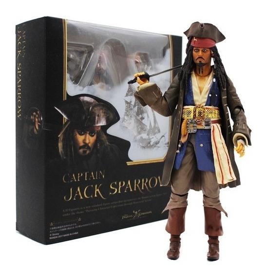 Boneco Capitão Jack Sparrow Piratas Do Caribe + Brinde!!!