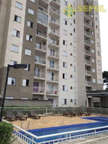 Apartamento Com 2 Dormitórios À Venda, 50 M² - Jardim Nove De Julho - São Paulo/sp - Ap0021