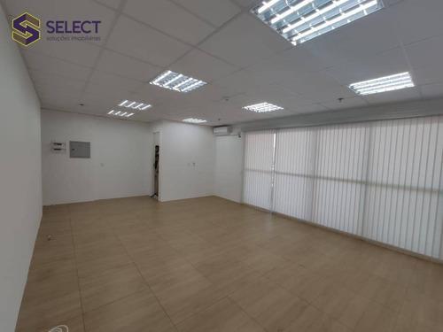 Sala Comercial De 46m² Com Sacada,1 Vaga, 1 Banheiro, No Marco Zero Em São Bernardo Do Campo - Sa0034
