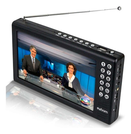 Mini Tv Digital Multimídia 7 - Mtv-70a