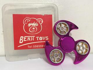 Fidget Spinner Metálico Benji Toys 104ju
