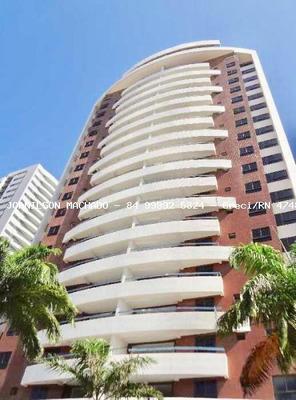 Apartamento Para Venda Em Natal, Lagoa Nova - Plaza Real, 3 Dormitórios, 2 Suítes, 5 Banheiros, 3 Vagas - Ap1061-plaza Real