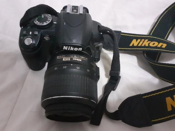 Vendo Câmera Nikon D3100 + Bolsa