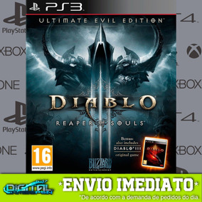 Diablo Iii Reaper Of Souls Ps3 Midia Digital Em 10 Minutos!