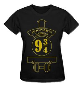 Camiseta Hogwarts Express 9 3/4 (harry Potter)