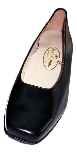 Zapatos Liso Dama Cadetes Militar Hoteleria Azafatas Rialto@