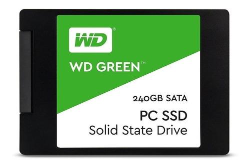 Imagen 1 de 2 de Disco sólido interno Western Digital WD Green WDS240G1G0A 240GB verde