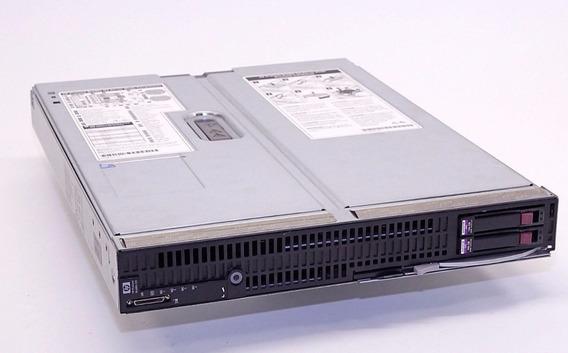 Servidor Blade Hp Lamina Bl680c G5 4x Sixcore / 32gb / 300g