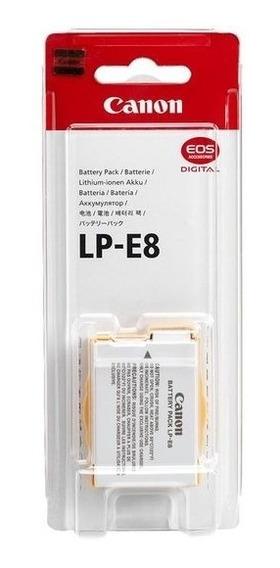 Original Lp-e8 C/ Nf-e Câmeras T2i T3i T4i T5i Sem Memoria
