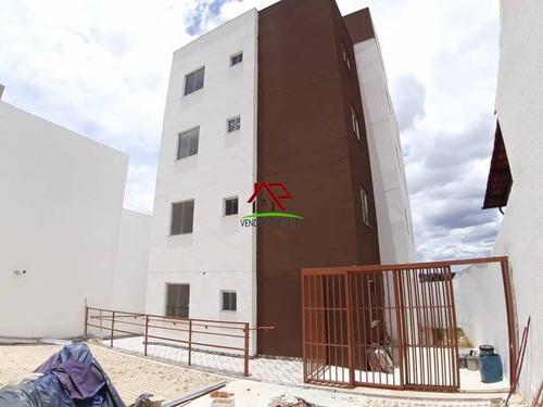 Apartamento De 02 Quartos No Bairro Serra Dourada - 1810