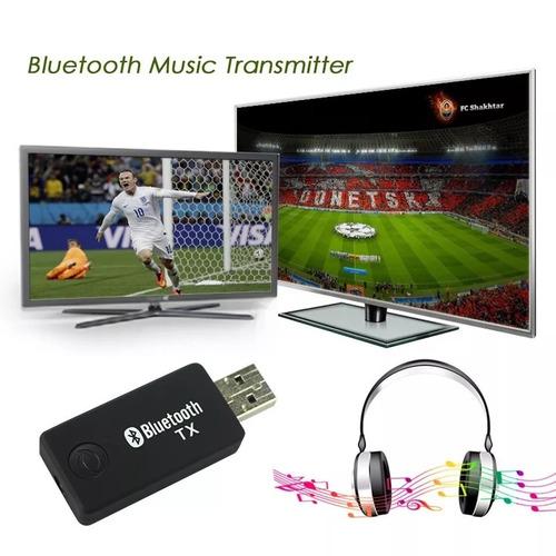 Transmissor Bluetooth Audio Stereo Plugue P2 3.5 Mm Rca Av
