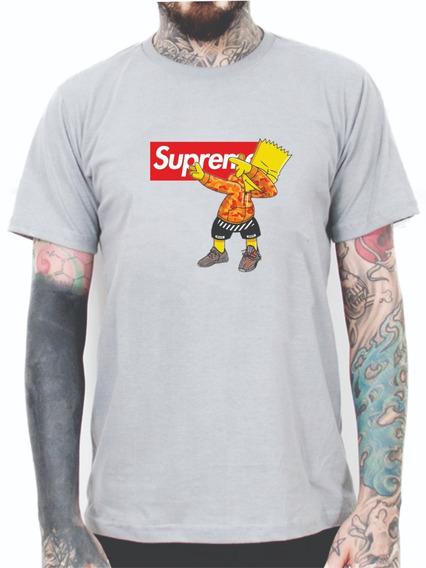 Camisa Camiseta Masculina Desenho Bart Supreme Personagem