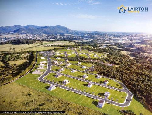 Lançamento Residencial Elementum Em Atibaia, Lotes À Partir De 360 M² - Te0759