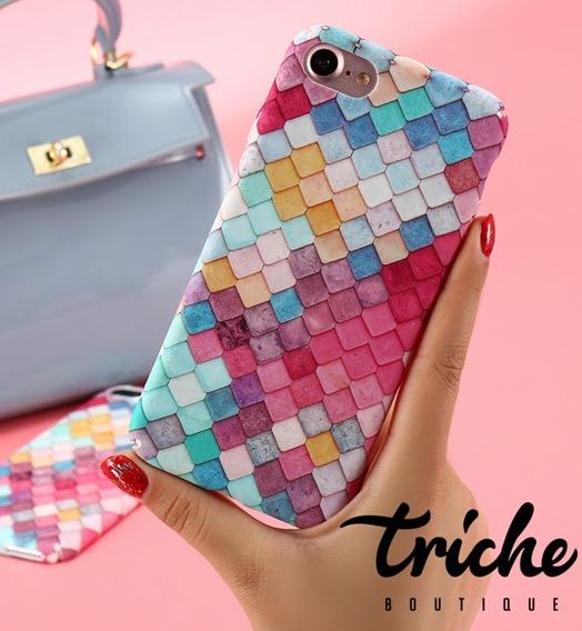 Funda Mosaico Colores Sirena iPhone 7 Plus iPhone 8 Plus
