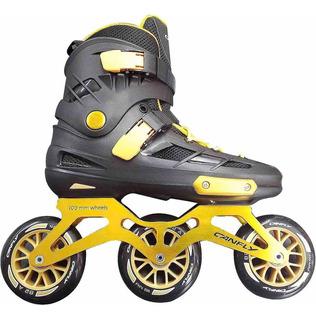 Patines Para Velocidad Tri-skate Con Equipo De Proteccion