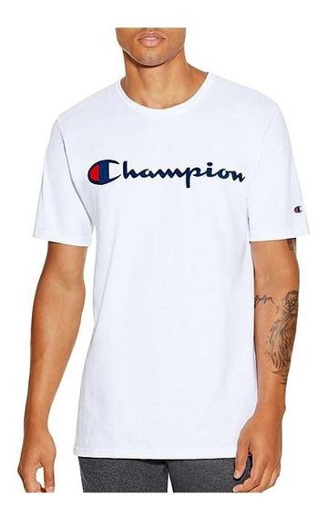 Playera Champion Negra Original (y06136) Envío Gratis