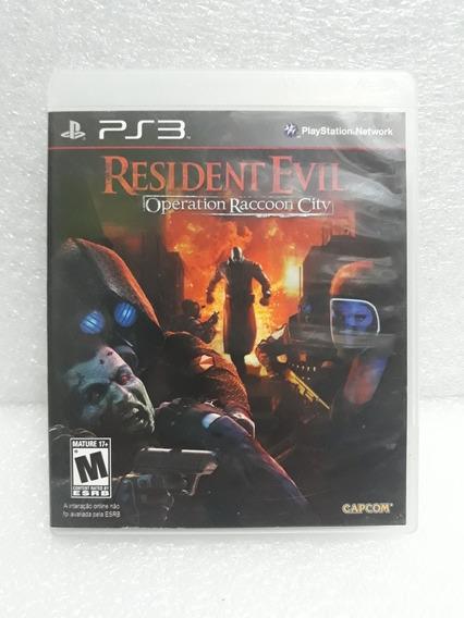 Resident Evil Operation Recon City Ps3 Mídia Física
