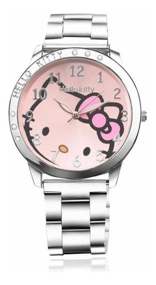 Reloj Hello Kitty Correa Acero Inoxidable
