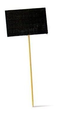 Imagen 1 de 6 de Picknwood Pk209bbtikon9 Pick De Bambu Con Rectangular Slate