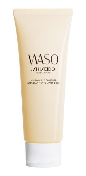 Esfoliante Facial Shiseido - Waso Soft + Cushy Polisher 75ml