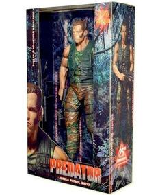 Boneco Original O Predador 45 Cm