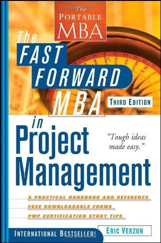 The Fast Forward Mba In Project Management - Livro Em Inglês