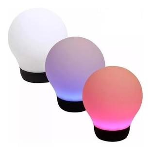 Parlante Portatil Bluetooth Divoom Aurabulb Color Via App