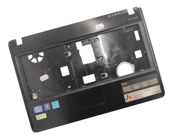 Carcaça Base Teclado Notebook LG S425 S430 Preta Riscos