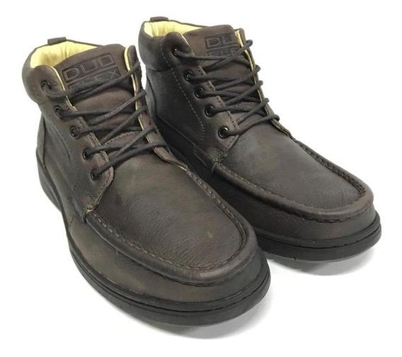 Sapato Coturno Social Masculino Couro Macio Conforto