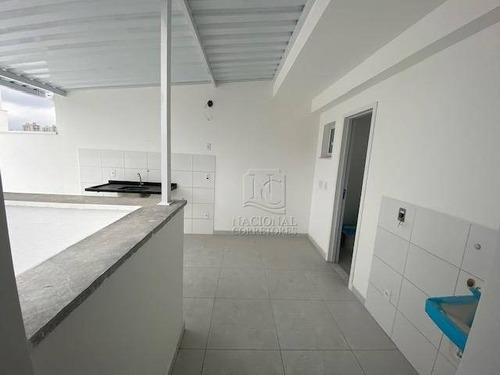 Imagem 1 de 23 de Cobertura À Venda, 92 M² Por R$ 440.000,00 - Vila Scarpelli - Santo André/sp - Co4025