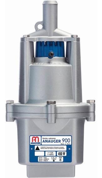 Bomba Dágua Submersa Vibratória Poço 900 5g 220v Anauger