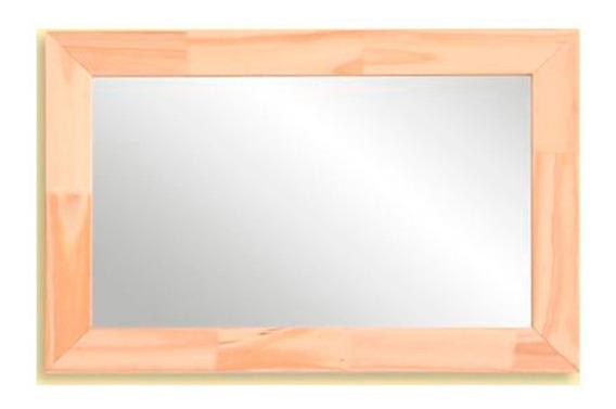 Espejo Marco Pino Rustico 39x59 Colgante Oferta Reflejar