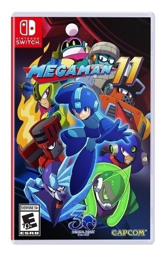 Mega Man 11 - Switch Lacrado