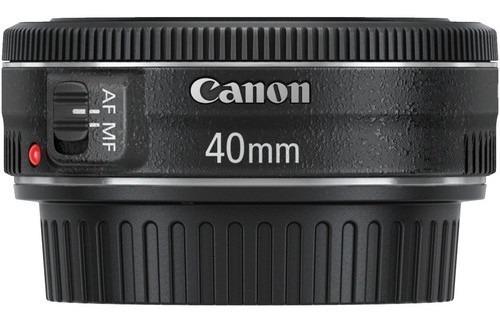 Lente Canon Ef 40mm F/2.8 Stm, Nova Na Caixa, Com Nf, Imed!