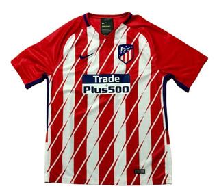 Camisa Atlético De Madrid Nike 2017/2018 Sambaquifut