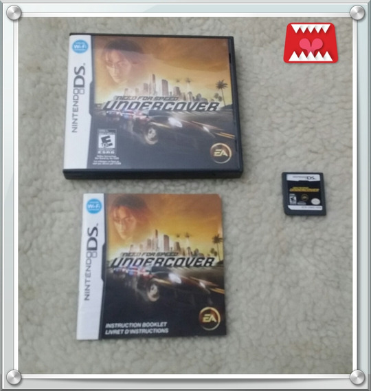 Need For Speed Undercover Nintendo Ds Nds 100% Original