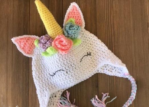 Gorro Unicornio Niña