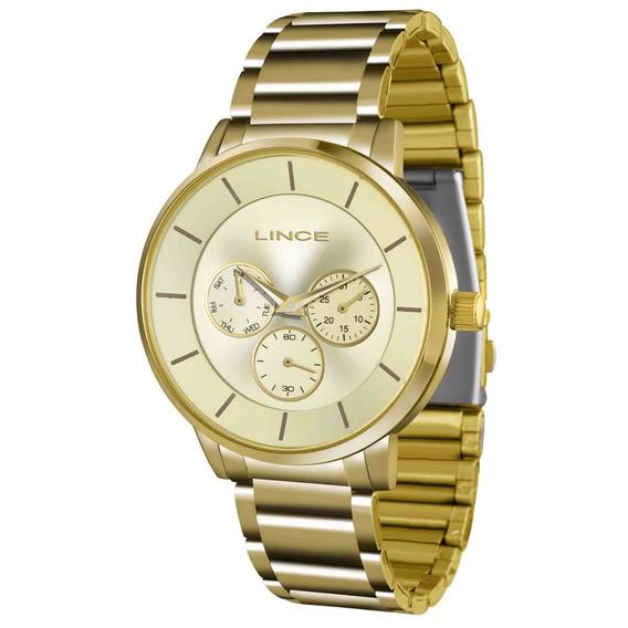 Relógio Lince Analógico Feminino Lmgj054l C1kx