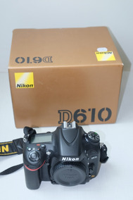 Nikon D610 Novíssima! Impecável! Pouquíssimo Uso!