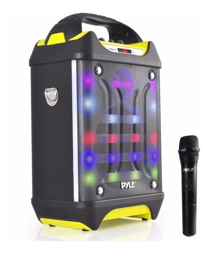 Pyle Parlante Portatil Altavoz Inalambrico Bluetooth